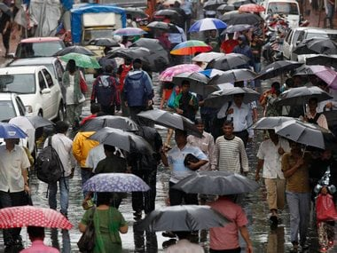 Mumbai rains: Expect heavy rains in city, suburb on Thursday, predict weather forecaster; 46.76% cloud build up over city, reports Skymet