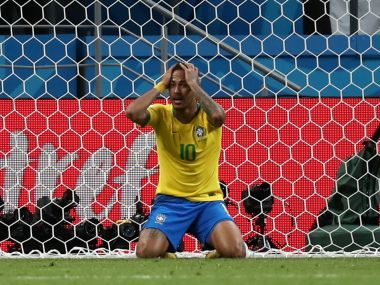 FIFA World Cup 2018: Peripheral and petulant, Neymar fails to inspire Brazil as they lose to Belgium