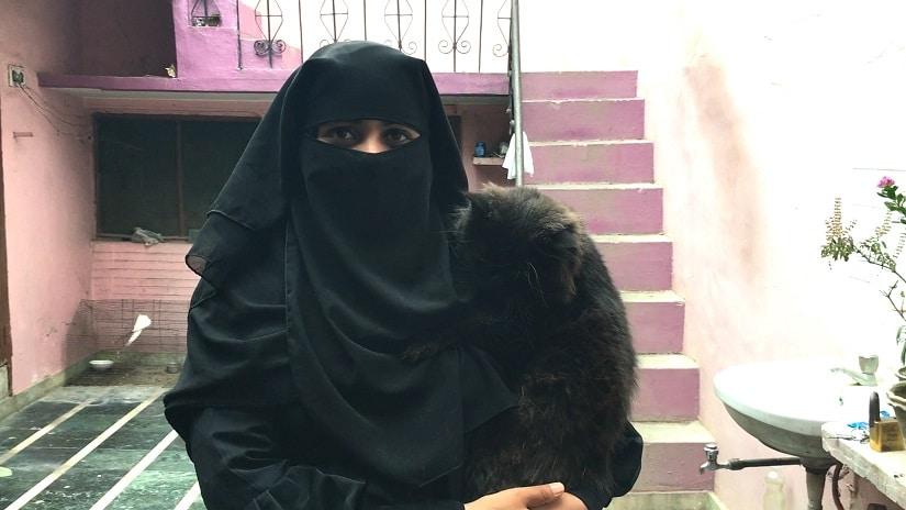 Nida Khan, a triple talaq activist. Firstpost/Ankita Virmani