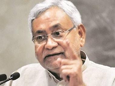 File image of Bihar chief minister Nitish Kumar. News18