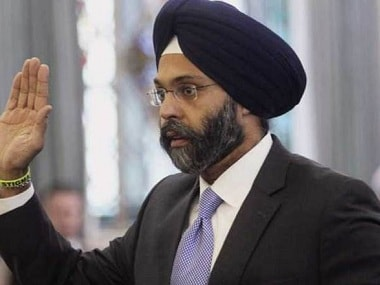 File photo of New Jersey Attorney General Gurbir Grewal. AP