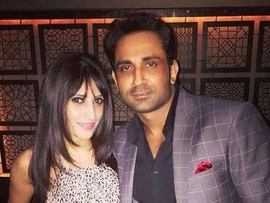 Anissia Batra and Mayank Singhvi. Image courtesy: Facebook