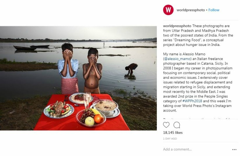 Screenshot from Instagram/worldpressphoto.