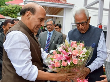 Rajnath Singh in Jammu and Kashmir: Home minister likely to visit Amarnath temple, chair high-level security meet today