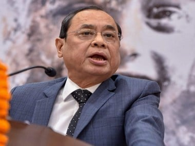 File image of Supreme Court judge Justice Ranjan Gogoi. News18