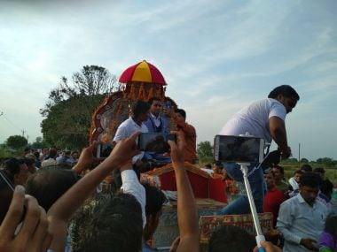 Dalit groom Sanjay Jatav. Twitter/@dhrubo127