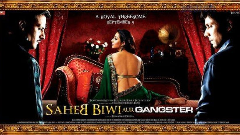 Poster of Saheb Biwi Aur Ganster 2011. Image from Facebook