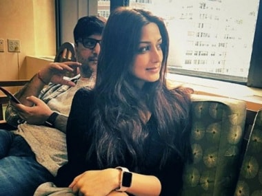 Sonali Bendre reveals she is battling 'high grade' cancer, undergoing treatment in New York
