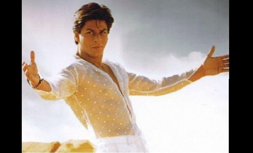 Shah Rukh Khan in Kabhi Khushi Kabhie Gham. Twitter @rshah2611