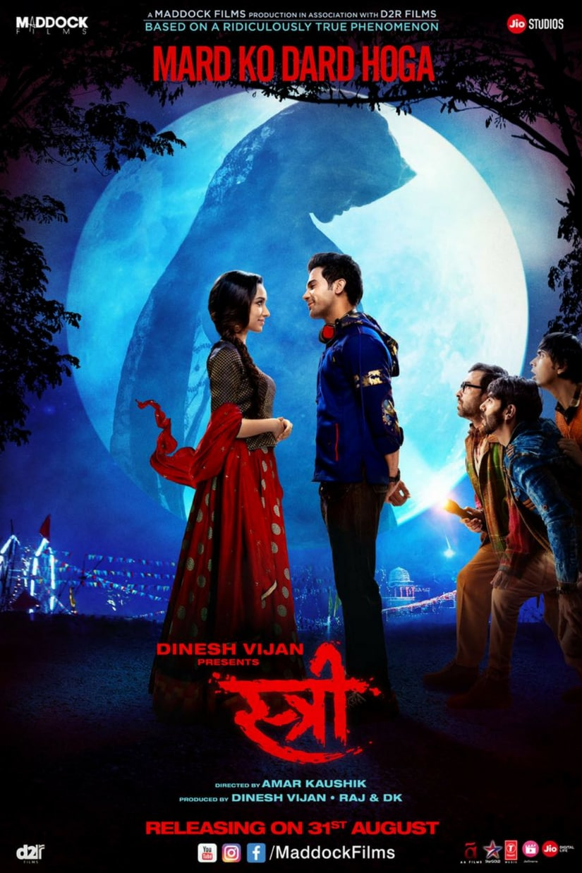 poster for Stree/Image from Twitter.