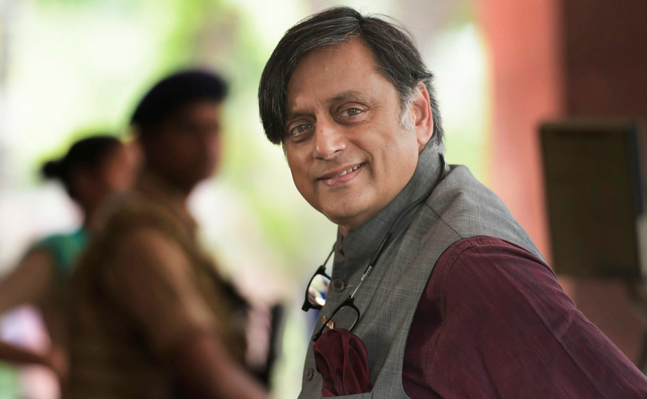 "Union Finance Minister Piyush Goyal on Thursday said that he doesn't understand the ""foreign accent"" of Congress leader Shashi Tharoor. PTI"