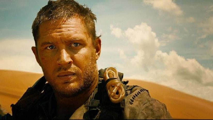 Tom Hardy in Mad Max: Fury Road. Image from Facebook