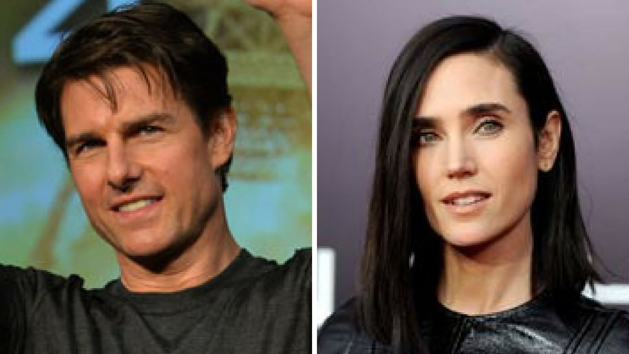 File images of Tom Cruise (left) and Jennifer Connelly (right)