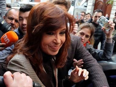 File image of former Argentine president Cristina Kirchner. Reuters
