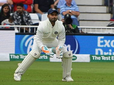 India vs England: Rishabh Pant's wicket-keeping at Trent Bridge shows he is an exciting prospect