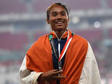 Asian Games 2018: Hima Das determination and belief in silver medal win draws her level with gold medallist Salwa Eid Naser
