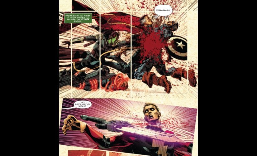 Cap and Strange however, appear to have suffered something more painful than death. Image courtesy: Marvel