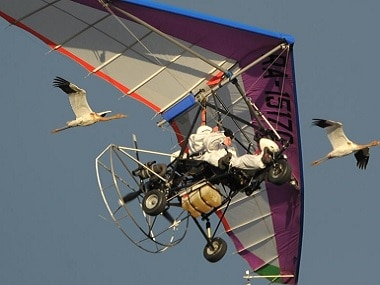 Paragliding at the Asian Games. Representational image. AP