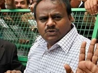 File image of Karnataka chief minister HD Kumaraswamy. PTI