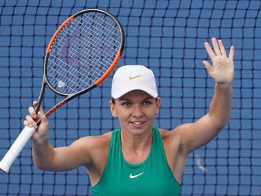 Simona Halep will playl against Dutch outsider Kiki Bertens in the finals on Sunday. AP