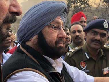 Punjab chief minister Amarinder Singh. Twitter/@capt_amarinder