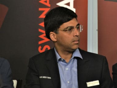 Viswanathan Anand at the opening ceremony of the Saint Louis Rapid & Blitz chess tournament. Image Courtesy: V Sarvanan