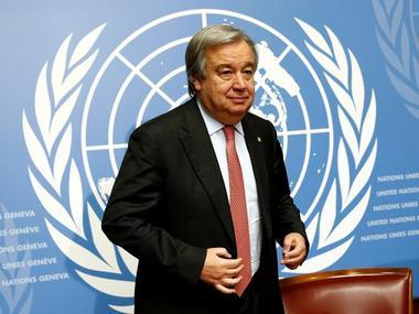 File image of Antonio Guterres. Reuters