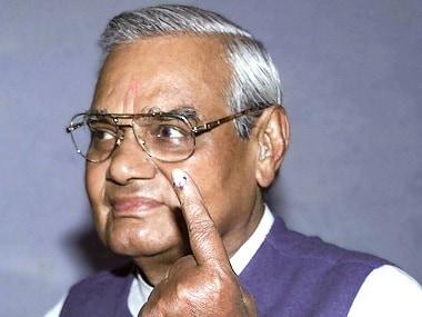 File image of former prime minister Atal Bihari Vajpayee. PTI