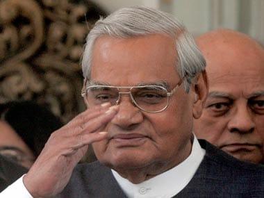 File photo of former prime minister Atal Bihari Vajpayee. Reuters