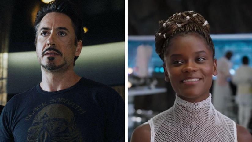 Tony Stark and Shuri/Image from Twitter.