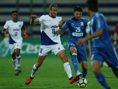 Bengaluru FC had earlier lost to Altyn Asyr 2-3 in the first leg. image credit: Twitter/@AFCCup
