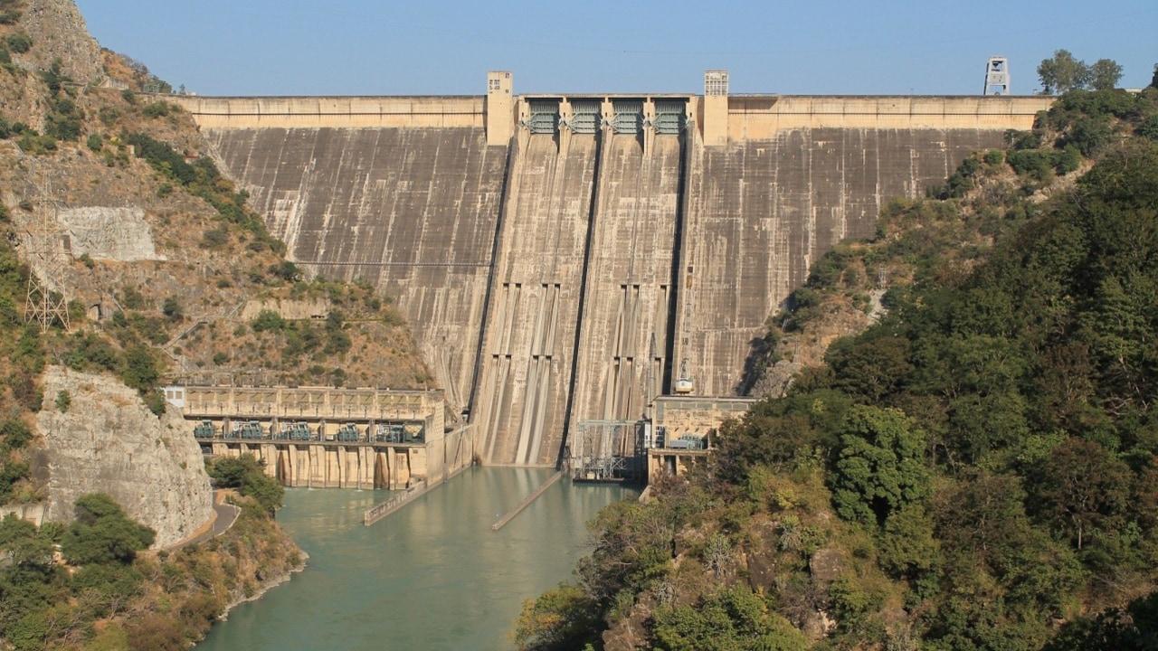 The Bhakra Nangal Dam. Image credit: HNN/Juhi Sarkar
