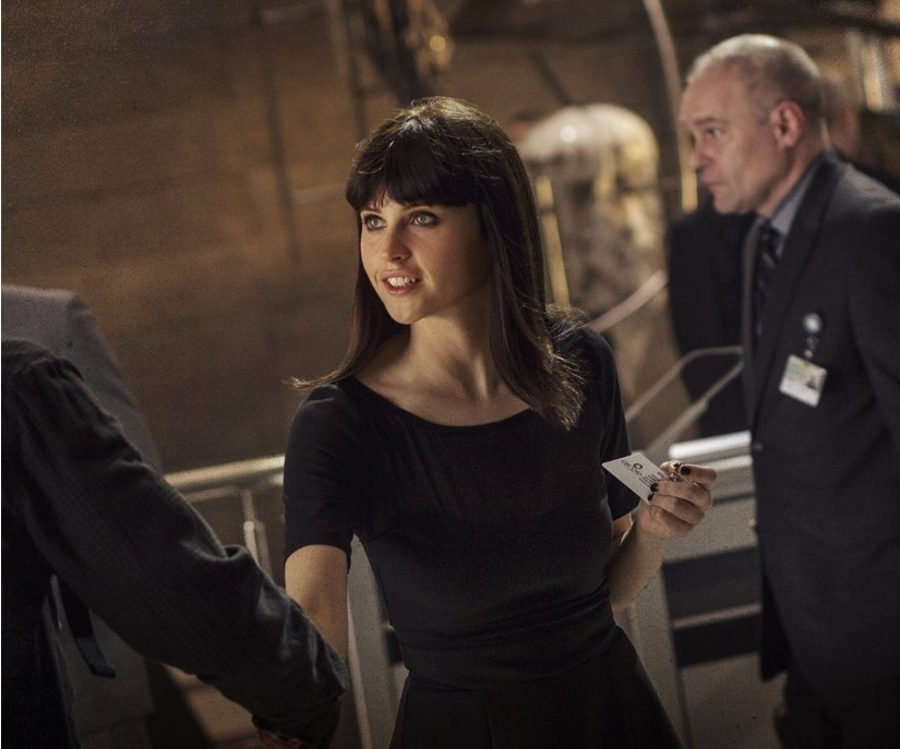 Felicity Jones as Black cat in in The Amazing Spider-Man 2/Image from Twitter.