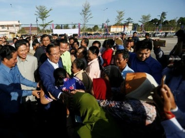 China says foreigners should not interfere in Cambodia after election that was criticised for being neither free nor fair