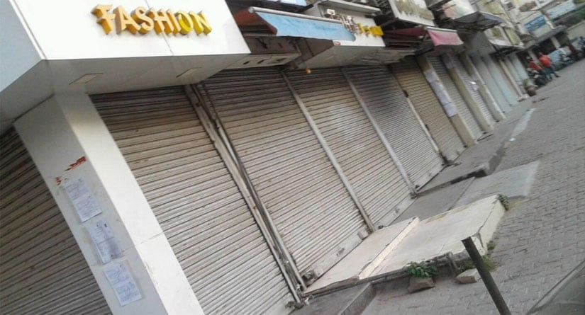 Over a thousand shops have been sealed in Amar Colony, a popular clothes market in South Delhi's Lajpat Nagar. Firstpost