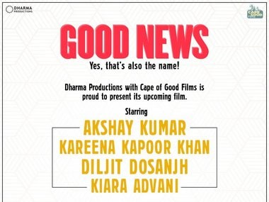 Good News, starring Akshay Kumar, Kareena Kapoor Khan, Diljit Dosanjh, to release on 19 July, 2019