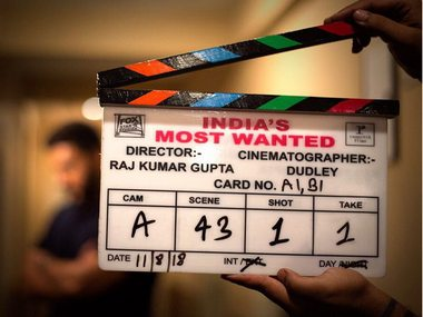 Arjun Kapoor begins shooting for India's Most Wanted; Rajkumar Gupta's film to release on 24 May 2019