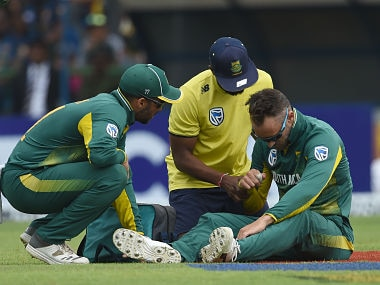 Sri Lanka vs South Africa: Proteas skipper Faf du Plessis ruled out of rest of tour after injuring shoulder in third ODI