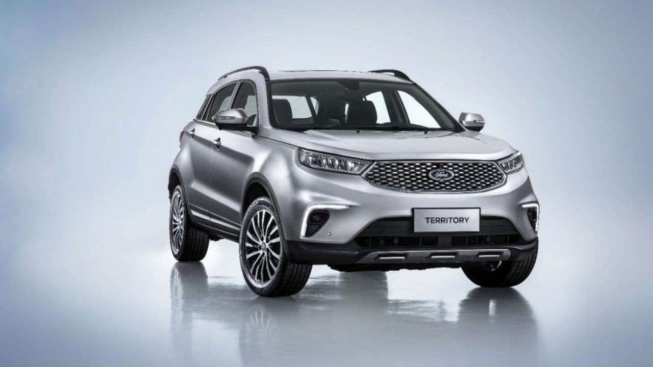 Ford Territory SUV for China. Image: Ford Media