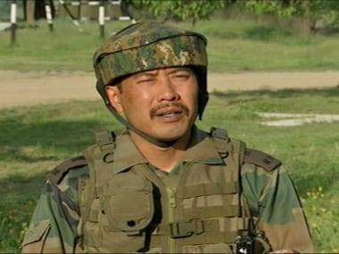 File image of Major Leetul Gogoi. News18