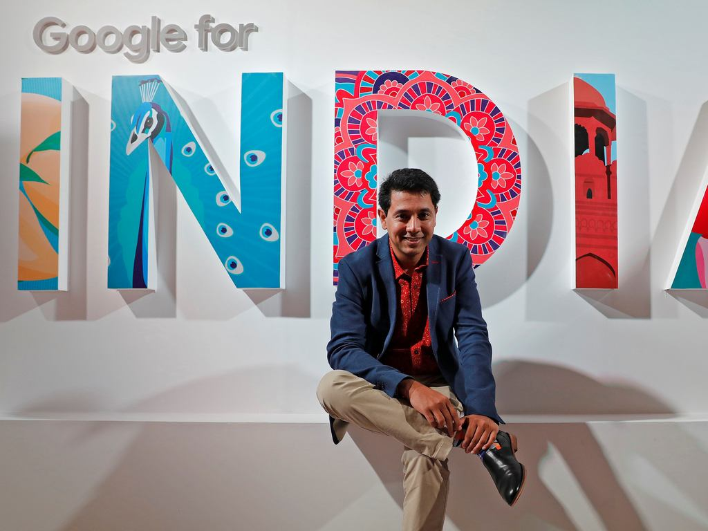 Caesar Sengupta, Google's General Manager of Payments and Vice President leading the Next Billion Users (NBU) initiative. Image: Reuters