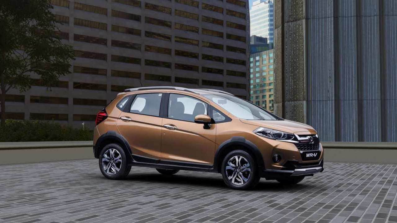 Honda WR-V. Image: Honda Car India
