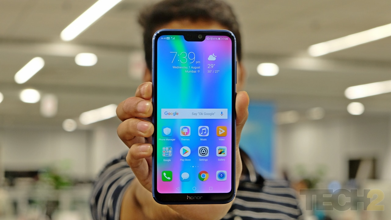 The Honor 9N loses out heavily to the Asus ZenFone Max Pro M1 when it comes to performance. Image: tech2/ Amrita Rajput