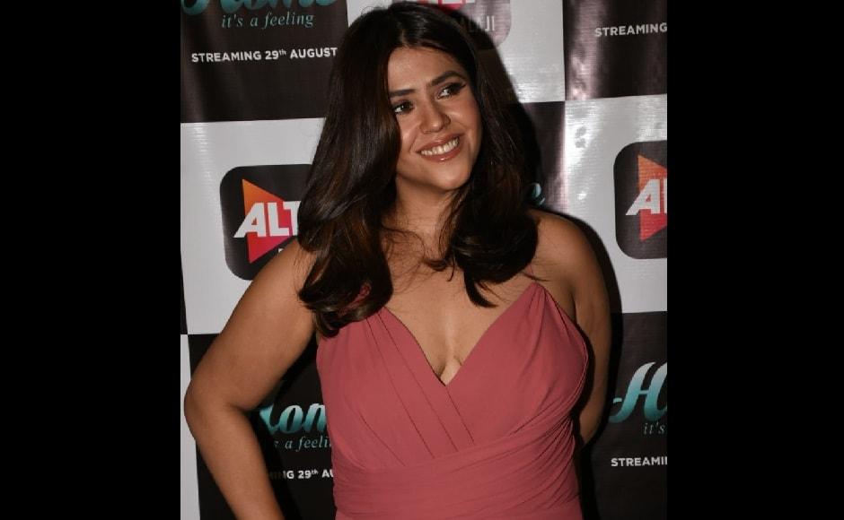 Producer Ekta Kapoor launched the trailer of Alt Balaji's upcoming web series Home in Mumbai