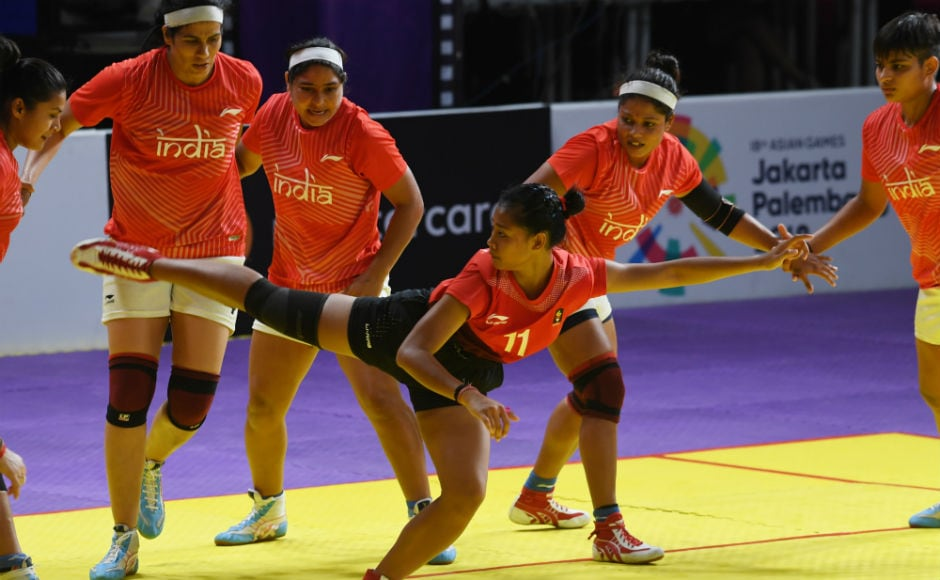 India had a good outing in Kabaddi, pummelling Indonesia 54-22
