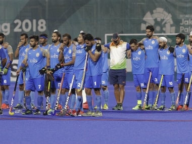 India's men's hockey campaign ended with a 2-2 (6-7) loss to Malaysia in the semi-final. AP