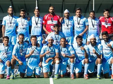 File image of India hockey. Image courtesy: @16Sreejesh