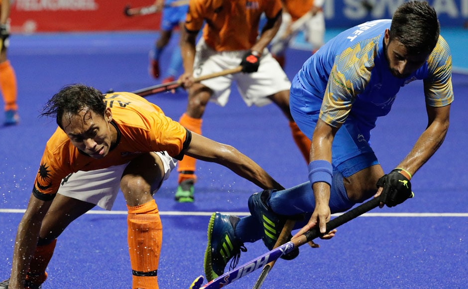 The Indian men's hockey team lost in a penalty shootout, after drawing 22 in regulation time in their semi-final match against Malaysia. They will play Pakistan for a bronze medal. AP