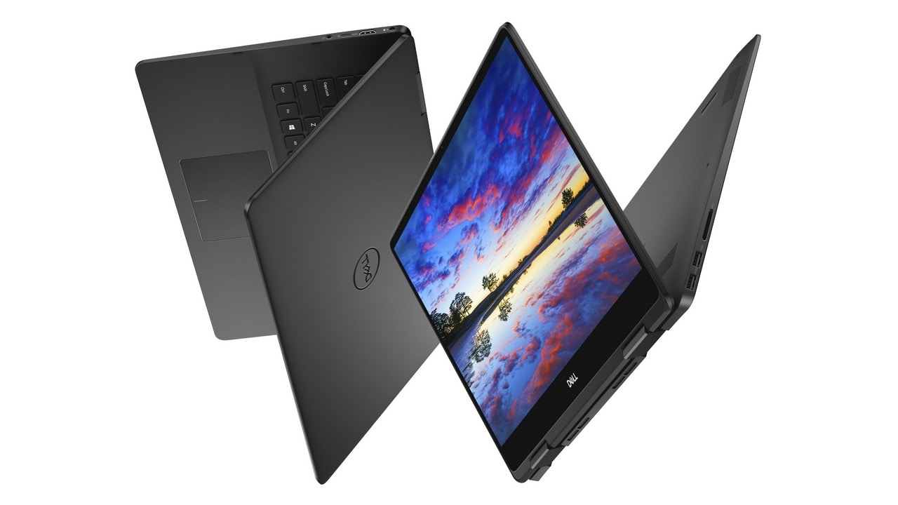 Inspiron 15 7000 Series 2-in-1 Touch Notebook, model 7586 Touch, codename Rogue One 15. All products shown are Inspiron 7586.