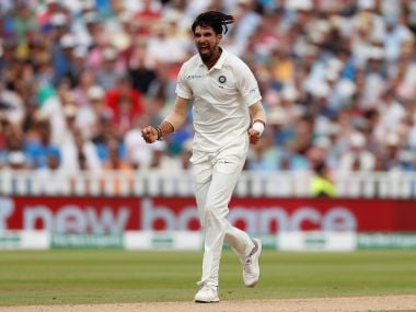 India vs England: Disciplined Ishant Sharma tantalised hosts' batsmen with fuller deliveries to leave them on the mat